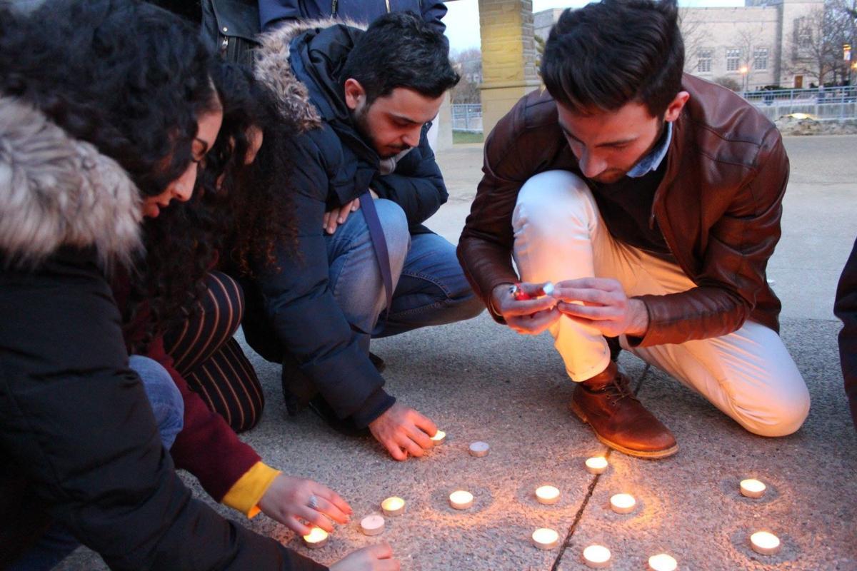 Syria silent vigil at Western