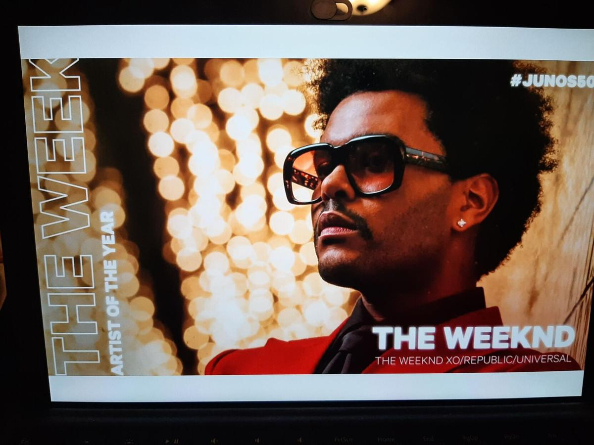 The Weeknd Juno Nomination