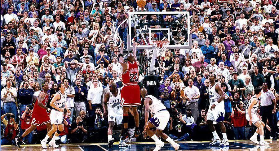 The Last Dance - Jordan's last shot