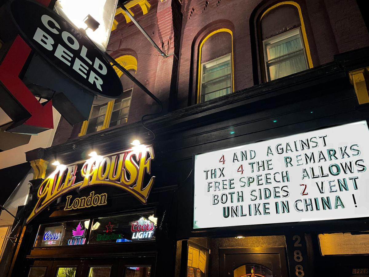 London Ale House Sign
