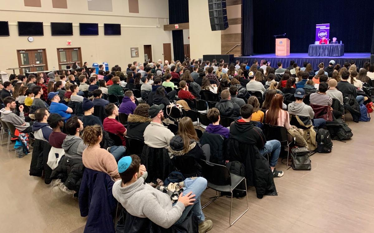 Holocaust remembrance ceremony, Jan 2020, 2