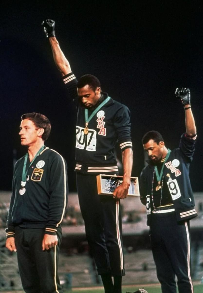 1968 Olympics - Black Power Salute