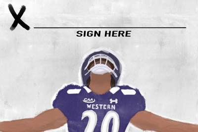 Western Football Jersey Graphic (png)