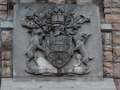 University plaque (Photo)
