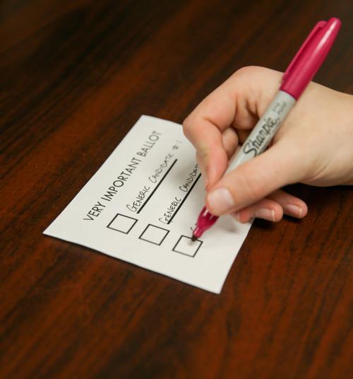 usc voting ballot