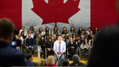 Trudeau Town Hall 2018
