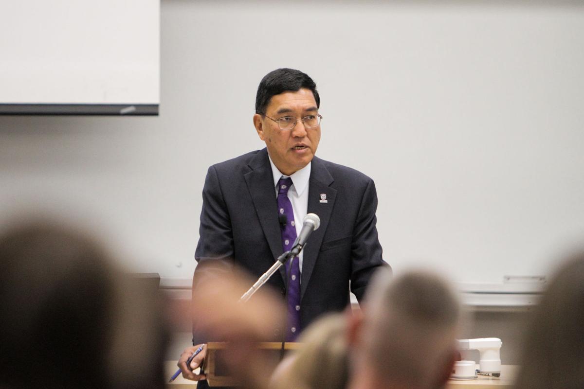 Chakma at October Senate (Photo)