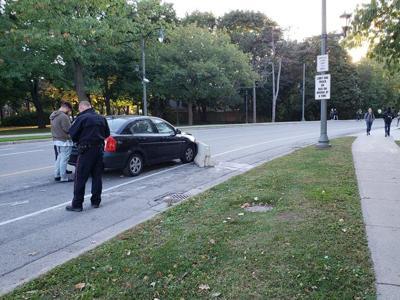 University Drive accident (Photo 1)