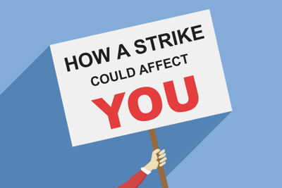 Potential strike (Graphic)