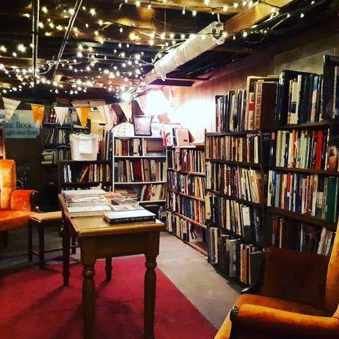 Bookshops in London - Safiya Chagani Brown and Dickson Booksellers shelves.jpg