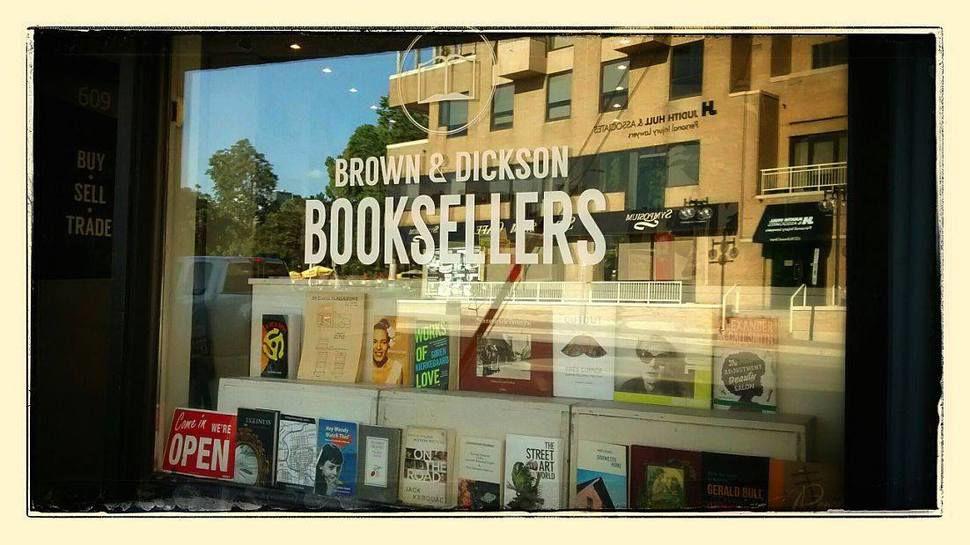 Bookshops in London - Safiya Chagani Brown and Dickson Window.jpg