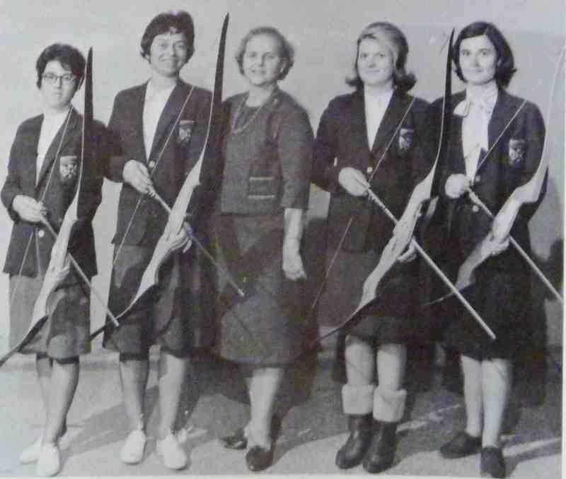 1965 archery team