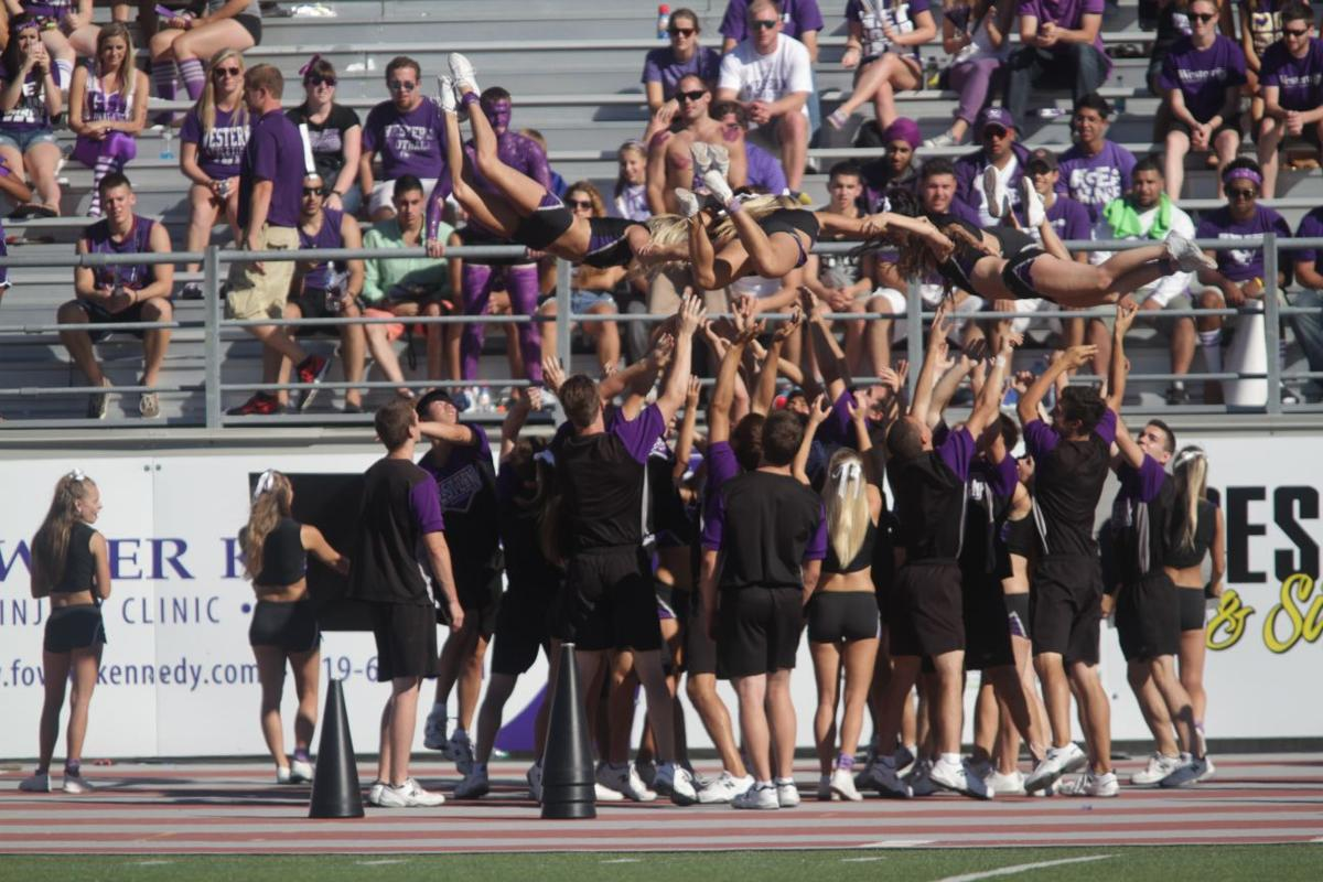 Leading the cheer, getting you pumped