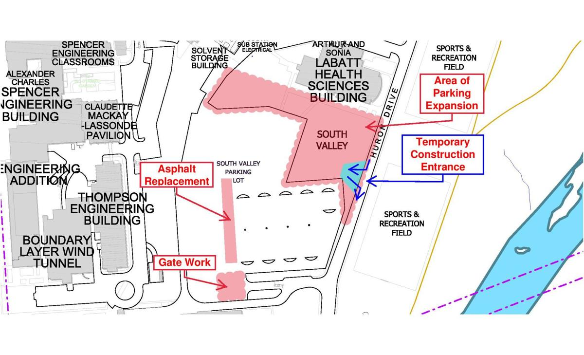 South Valley lot map