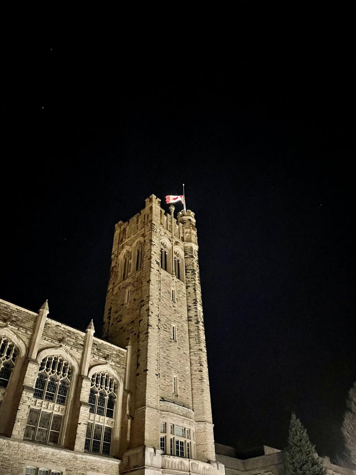 UC flag half-mast (4)