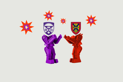 Western vs Queens rivalry graphic png