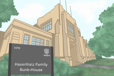 SPOOF: Thames Hall is turning into Hasenfratz Family Bunk-House (graphic - jpg)