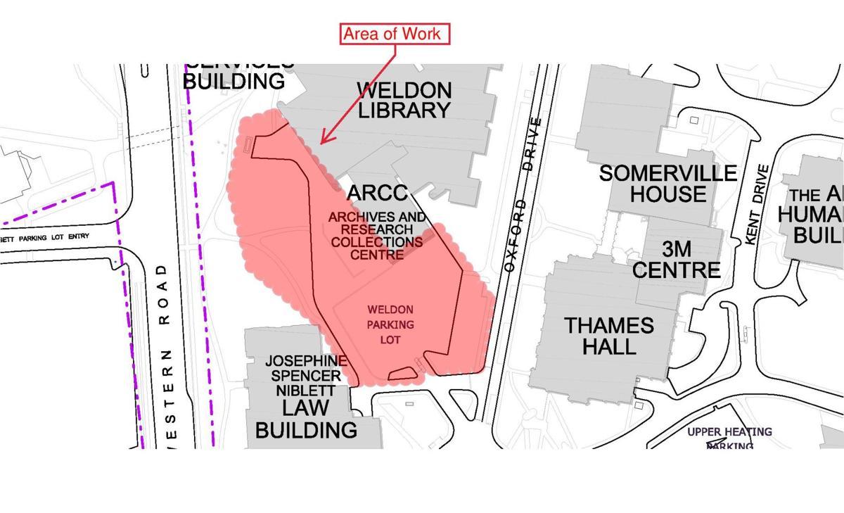 Weldon lot map