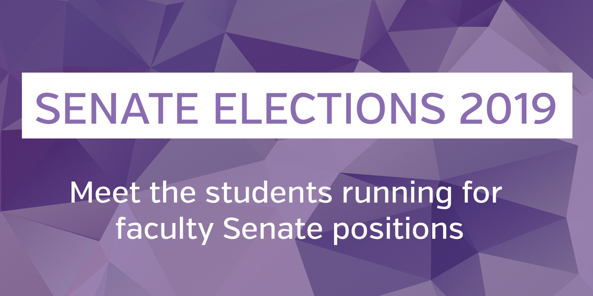 USC elections 2019- faculty Senate