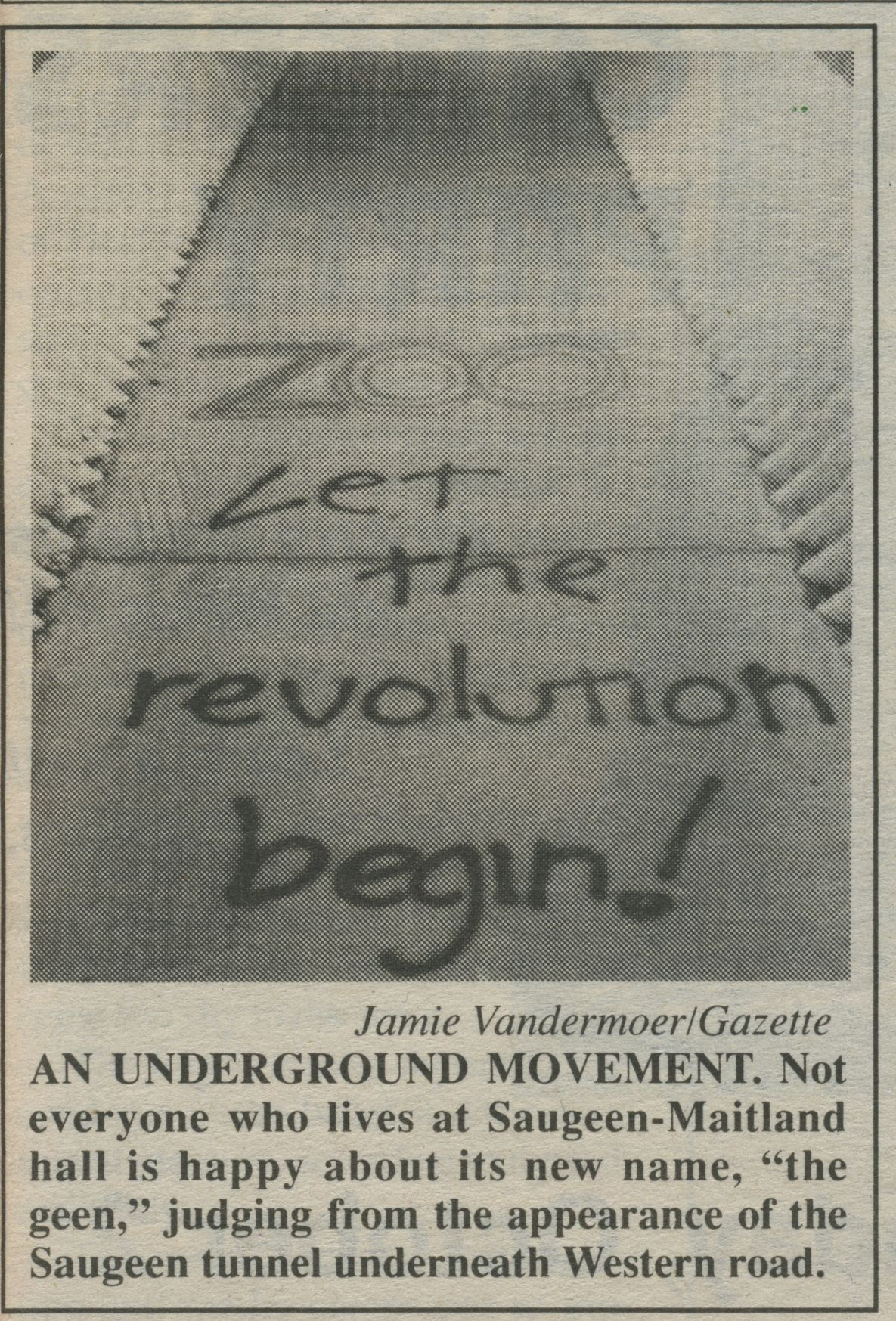 'Zoo' Graffiti