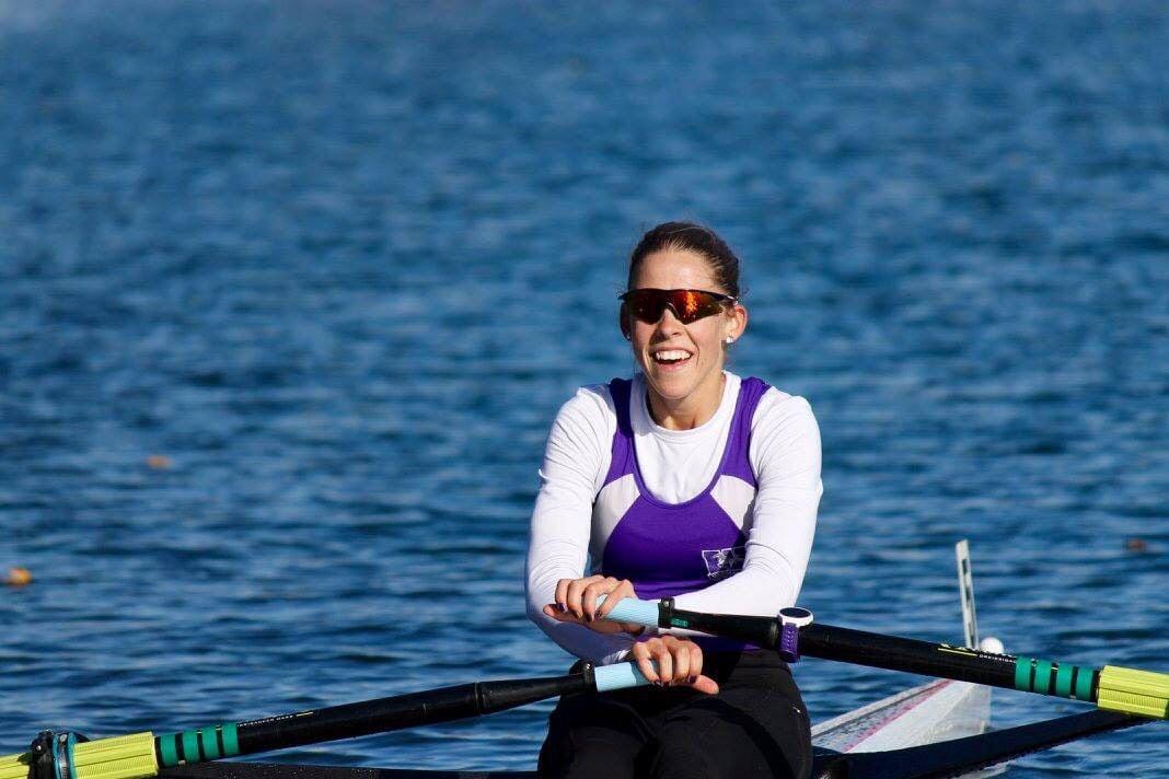 Jill Moffatt rowing 3