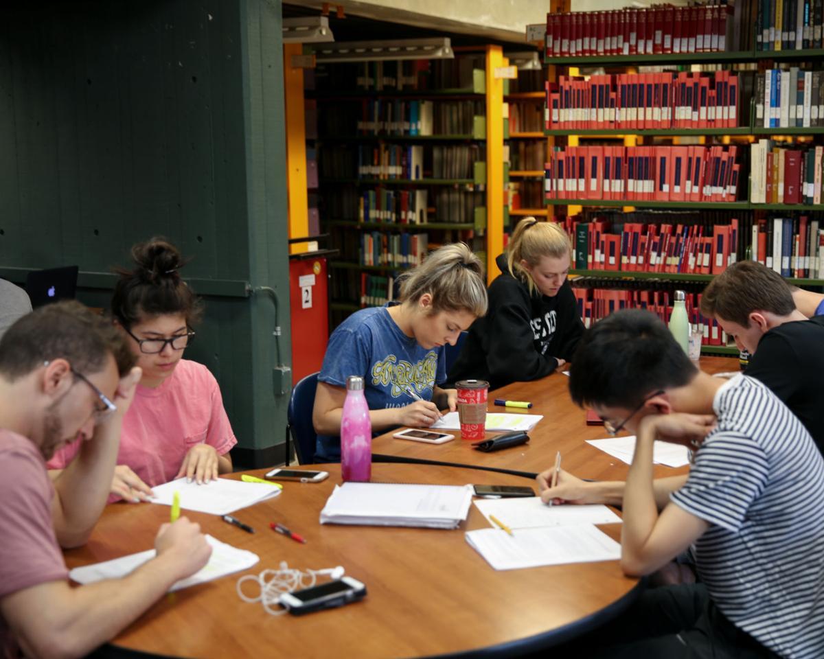 Club Weldon study session