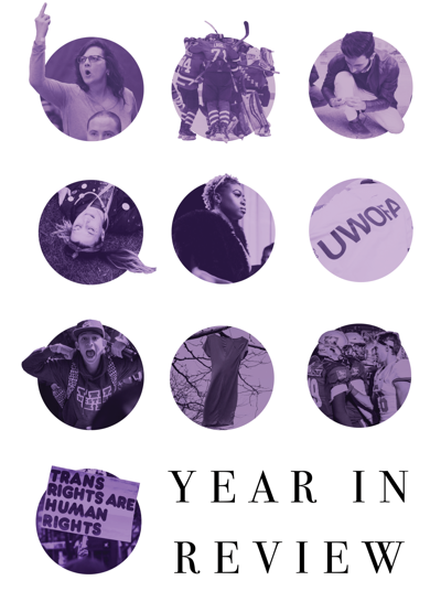 Year in Review (Cover, photo)