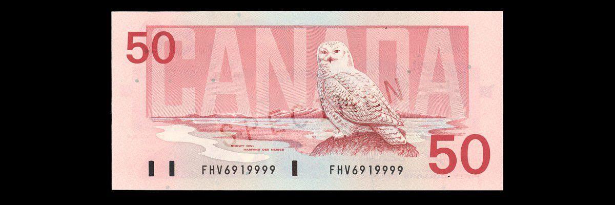 $50 Birds of Canada