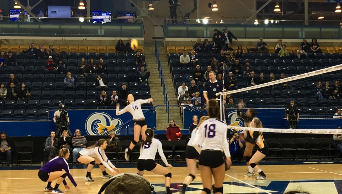 women's volleyball usports 2017 (sun)
