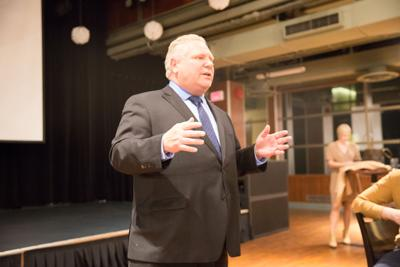 Doug Ford visit (Photo)