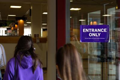 UCC main door sign (2)