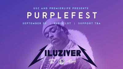 Lil Uzi at Purple Fest (Photo)