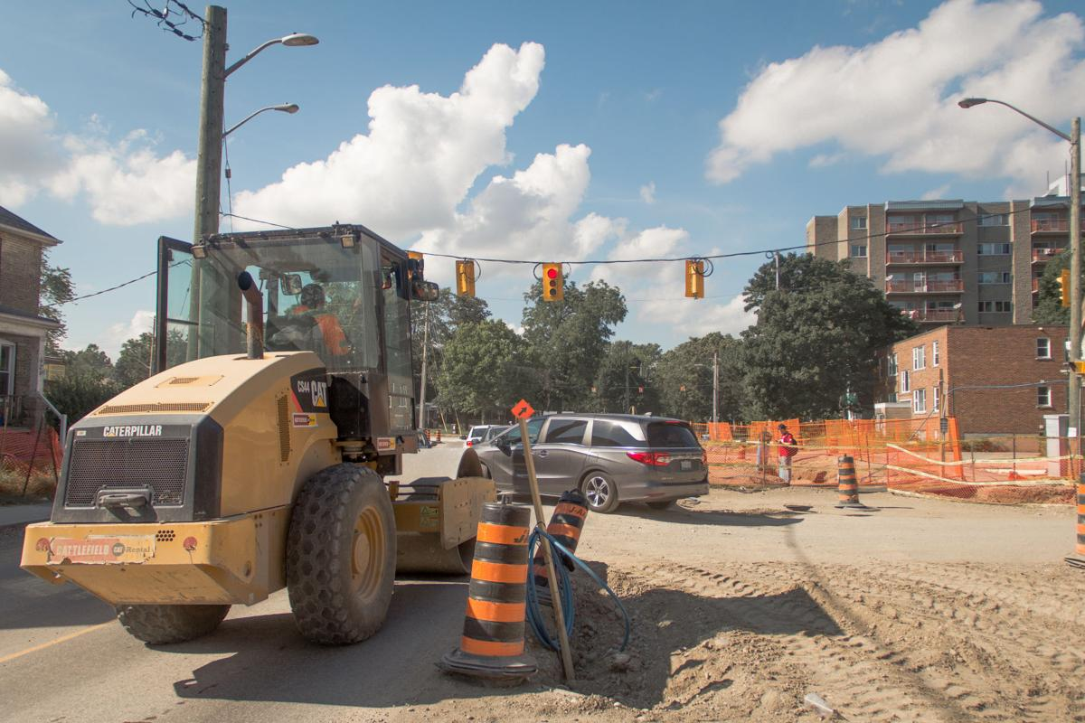Traffic disruptions (Photo 3)