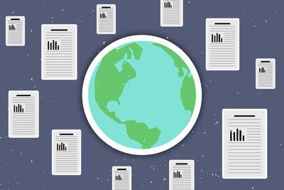 Western research papers garnering over 5 million downloads - graphic