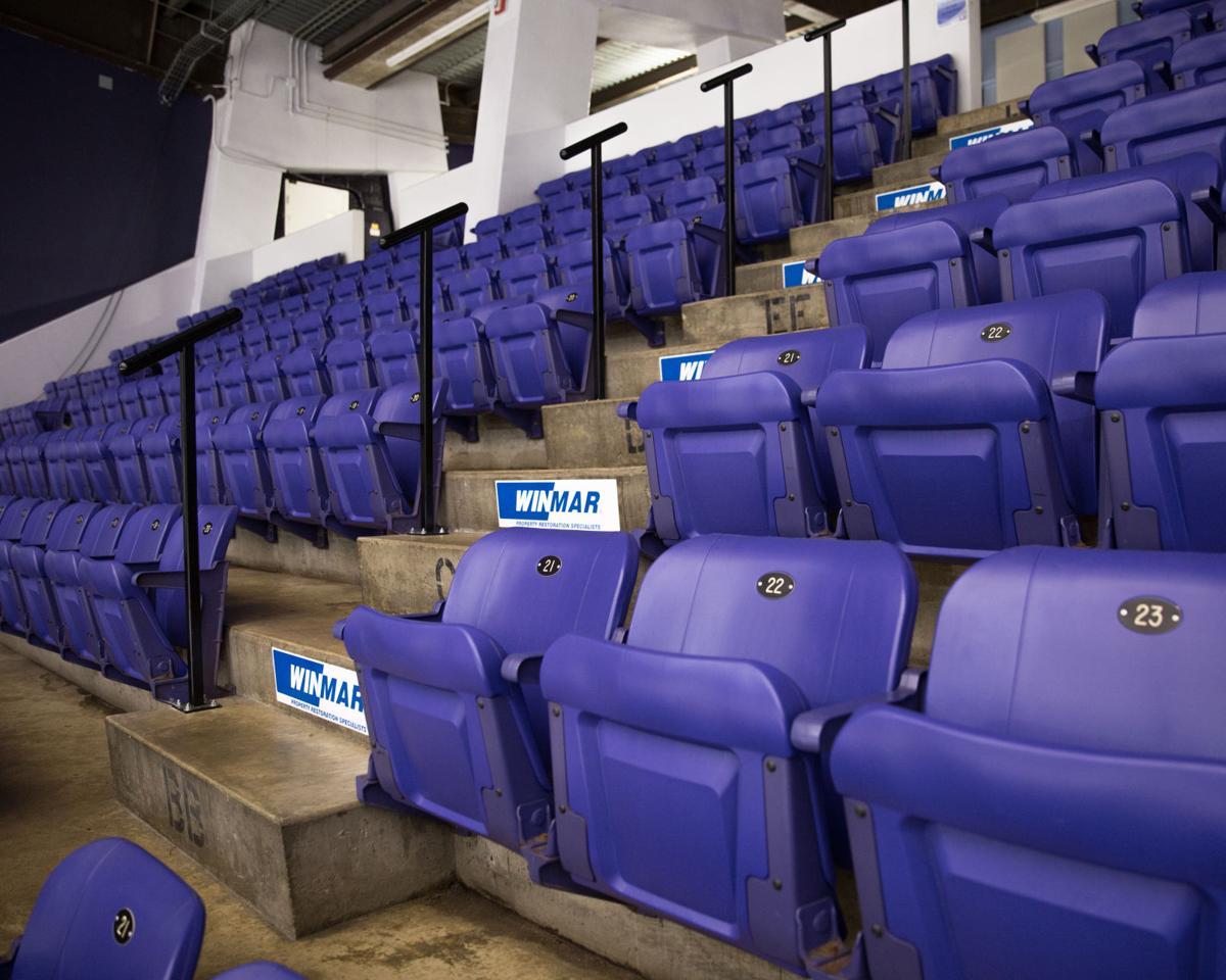 Rec Center Empty Seats 2 - Liam McInnis