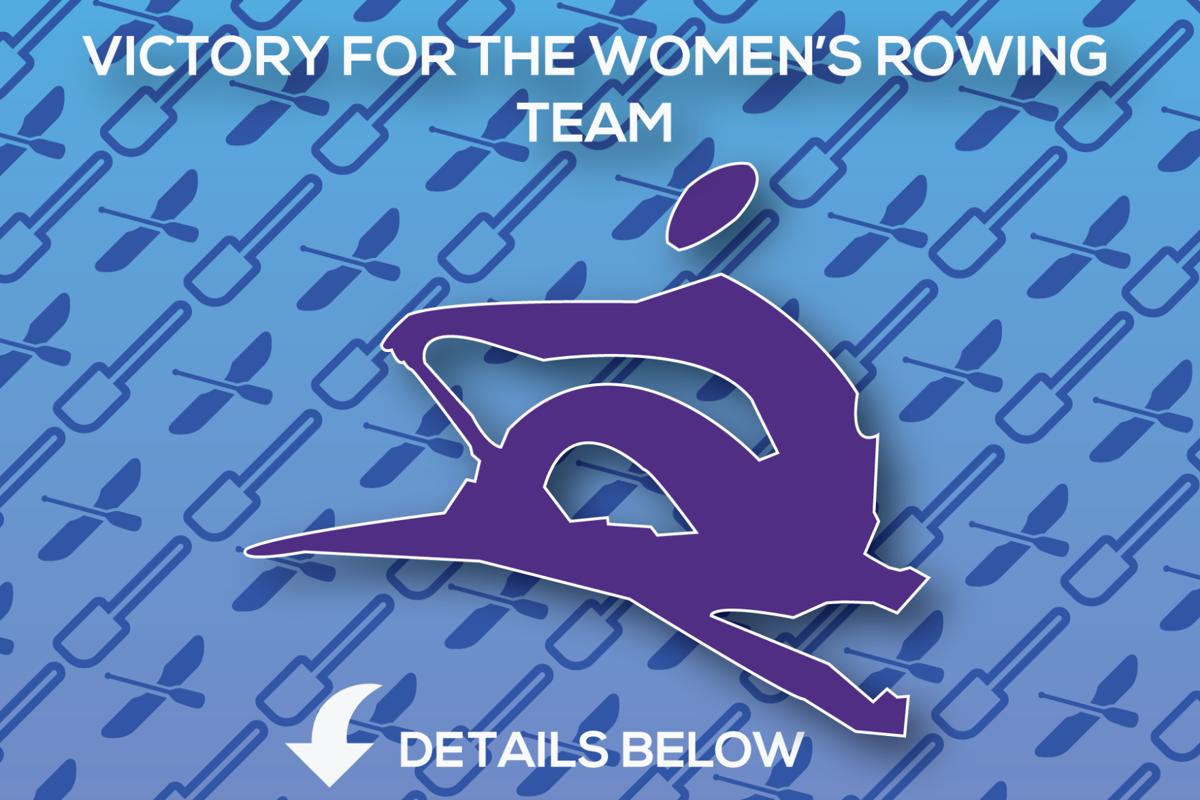 Women's Rowing Graphic