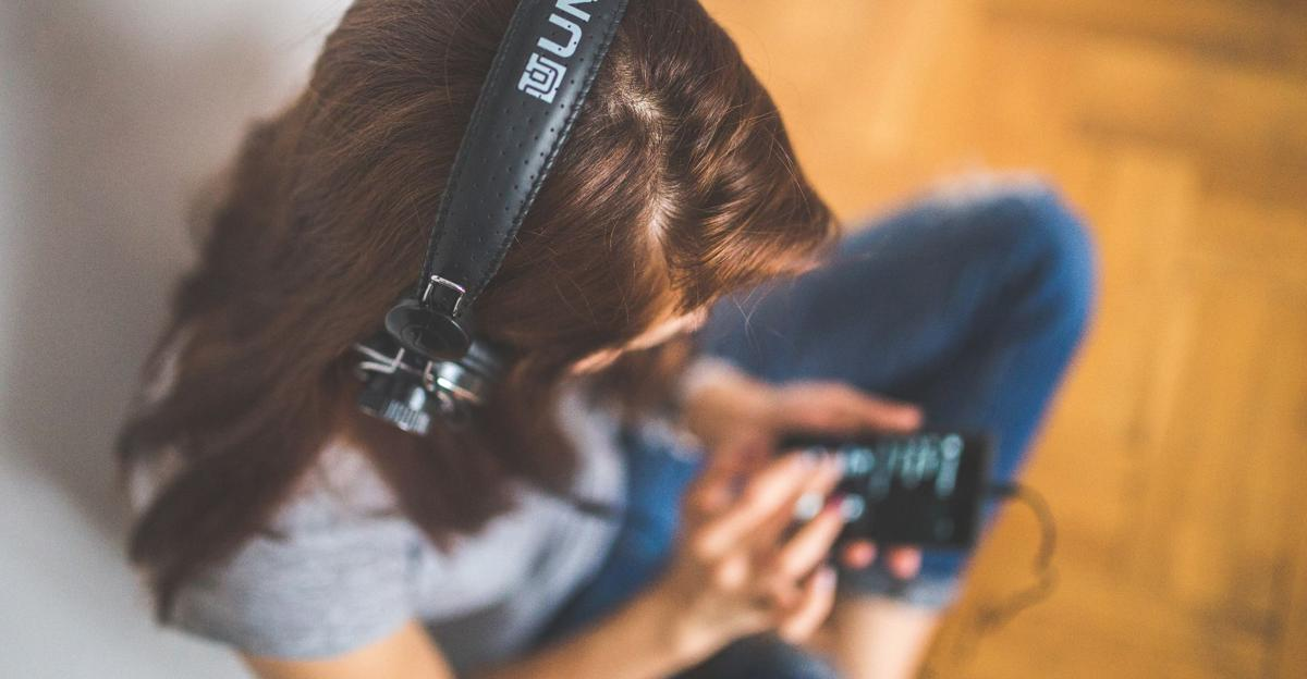 Playlist music headphones