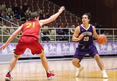 Men's Basketball vs Guelph - Nikola Farkic