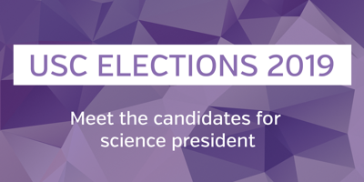 USC elections 2019- science president