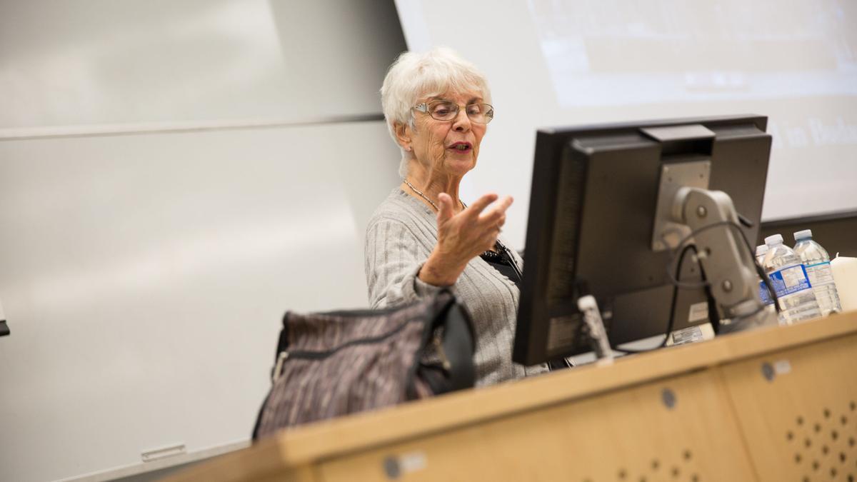 Georgine Nash at AHB (Photo 4)