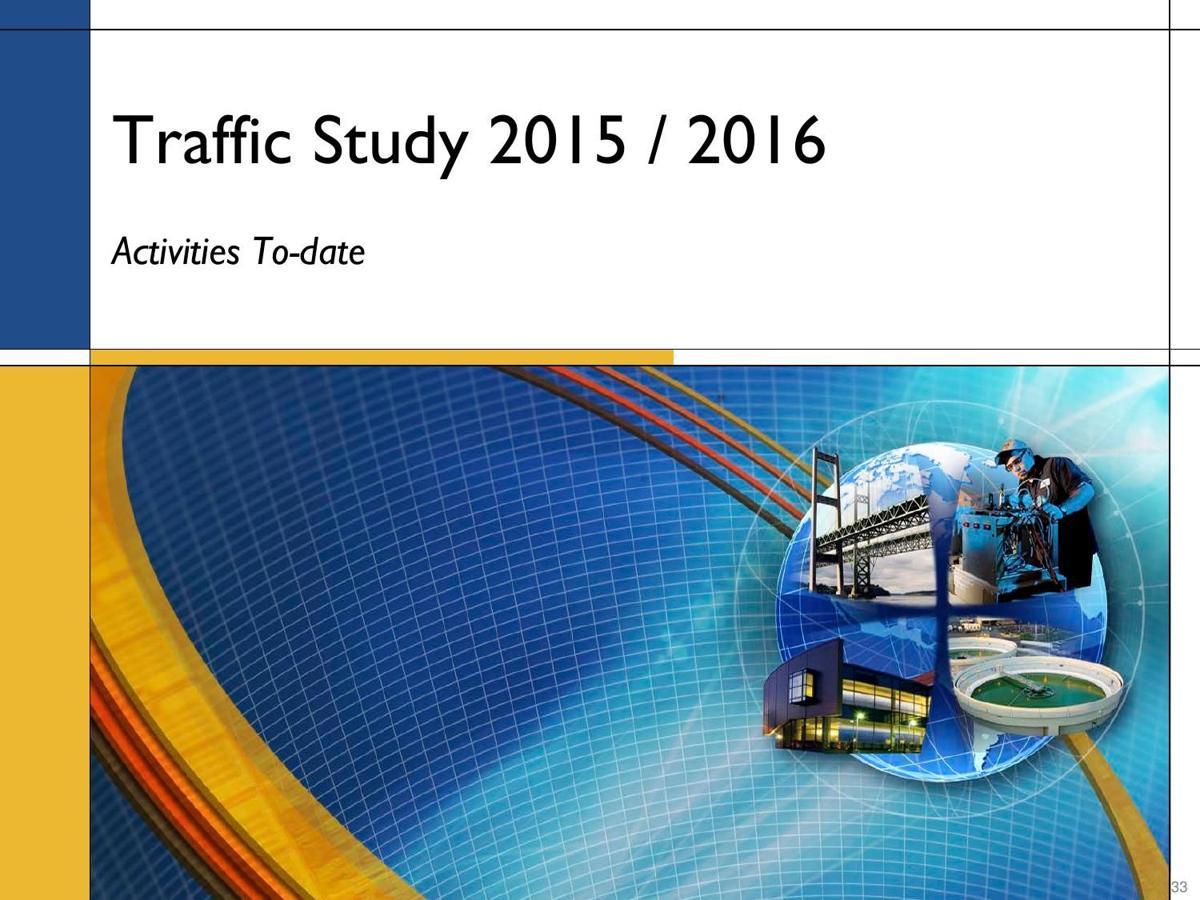 Western Traffic Study 2015-16