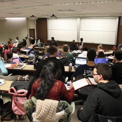 Ivey students analyze classroom garbage