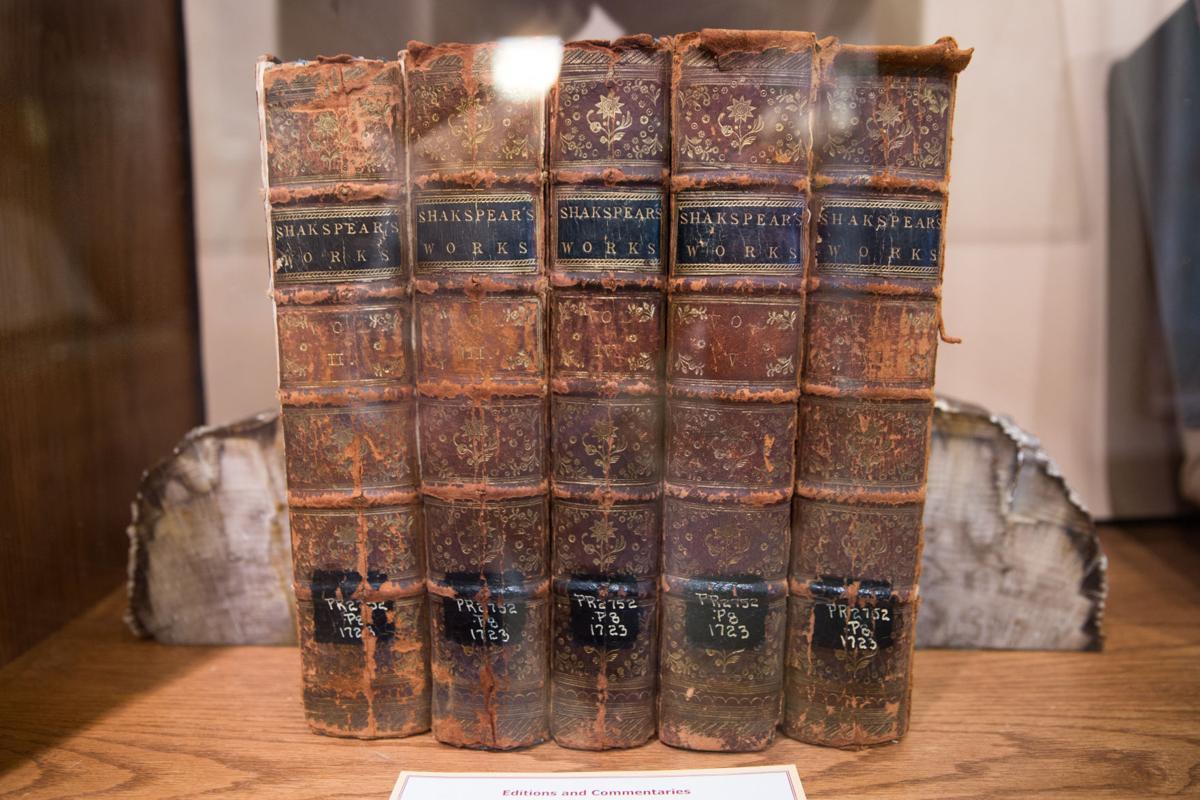 J.D. Barnett's Shakespeare books (Photo)
