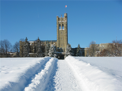 Western winter campus UC hill