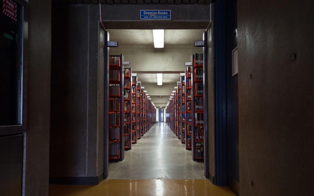 Weldon Library Interior, May 30 2019