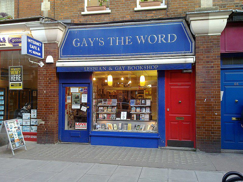 Gay's The Word bookshop (Photo)