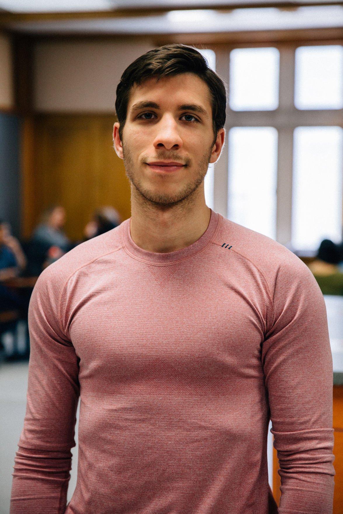 Ahmad Shishani, fourth-year BMOS student