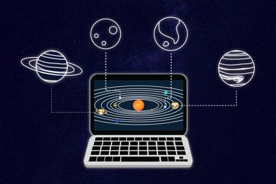 Space virtual hub (Image)