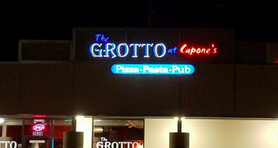A change of scenery is coming for the Grotto at Capone's