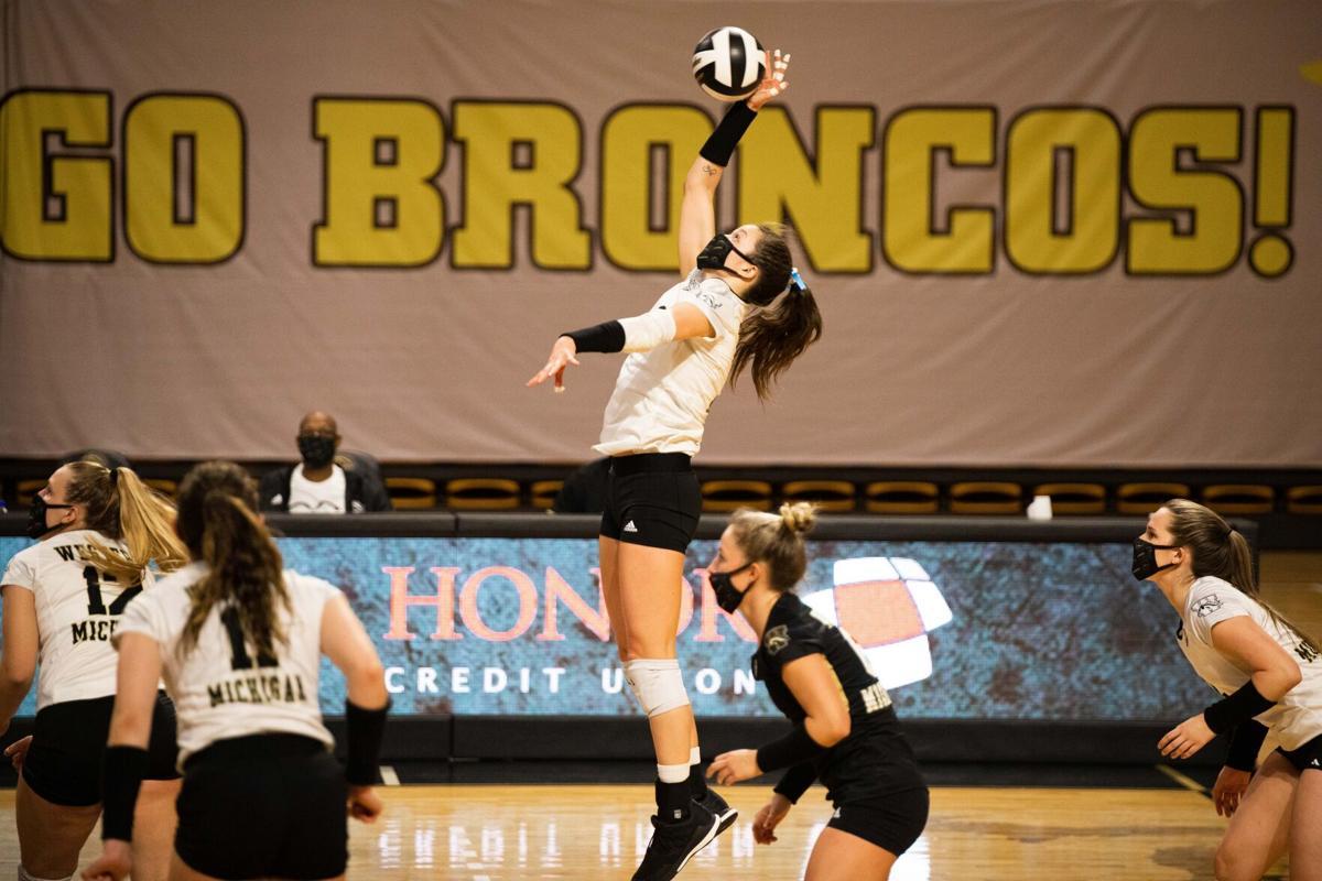 WMU Volleyball Rachel Bontrager